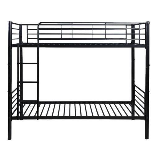 Merax Metal Bed in Black Ladder Kids Adults