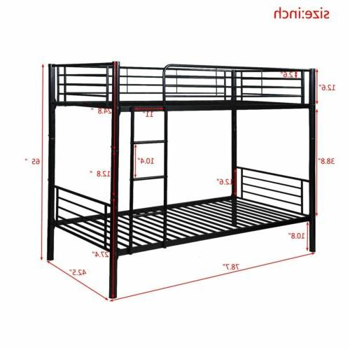 Merax Metal Bed Kids Adults