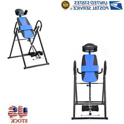merax foldable inversion table fitness back upside