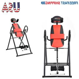 Merax Foldable Inversion Table Fitness Back Upside Down Ther