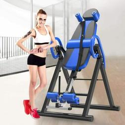 New Foldable Premium Gravity Inversion Table Back Therapy Fi