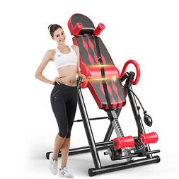 Premium Inversion Table Pro Fitness Chiropractic Exercise Ba