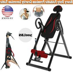 Inversion Table Gravity Back Therapy Reflexology Home Gym Ex