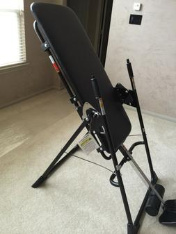 relax the back black inversion table new
