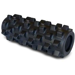 Rumble Roller Half Size Extra Firm Black - Textured Muscle F