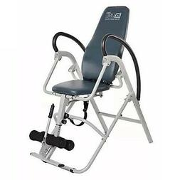 Stamina Seated Inversion Chair - Silver/Blue - Quick Release