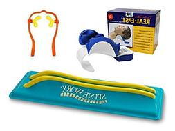 Spine-Worx Back Realignment Device + Real Ease Neck and Sho
