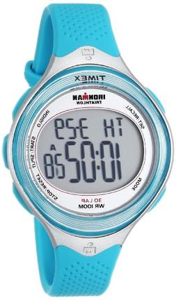 Timex Women's T5K602 Ironman Classic 30 Mid-Size Sea Blue Re